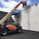 repairing our squash courts