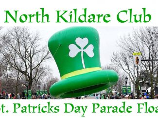 north kildare club st patricks day parade float