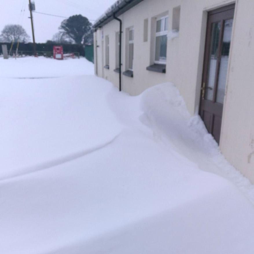 north kildare in the snow